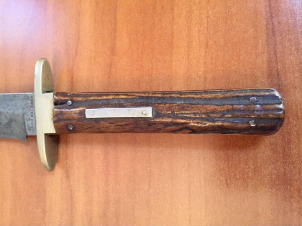 Rare John Bull & Co Sheffield Bowie Knife - 2