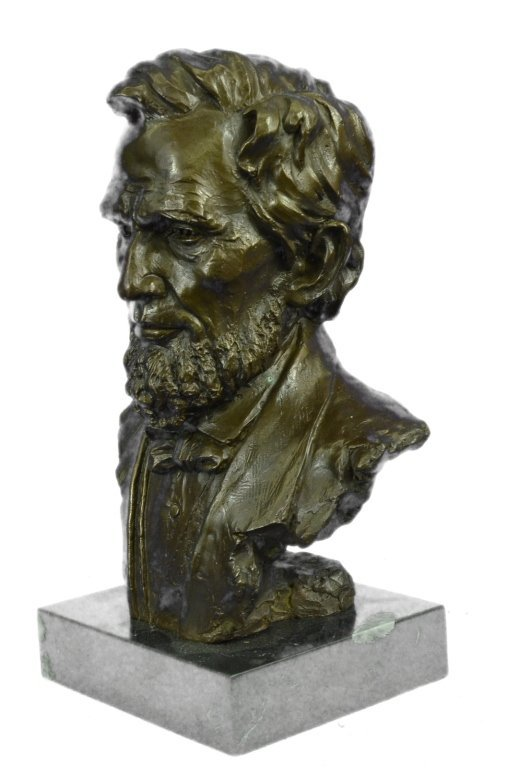 Signed Limited Edition Lincoln Bronze Bust - 2