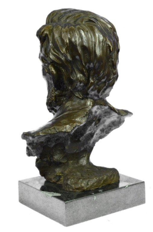 Signed Limited Edition Lincoln Bronze Bust - 3