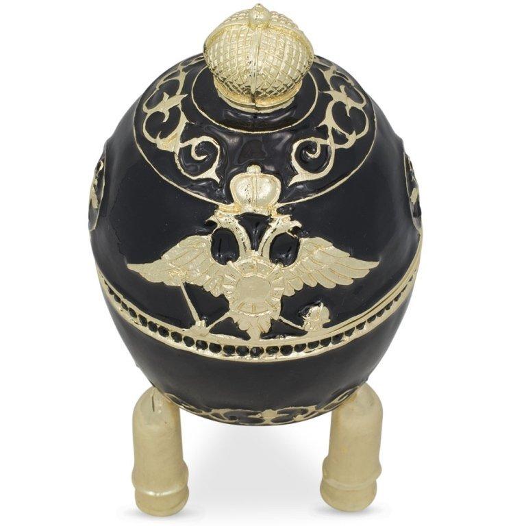 1916 Steel Military Faberge Inspired Jewel Box Egg - 3