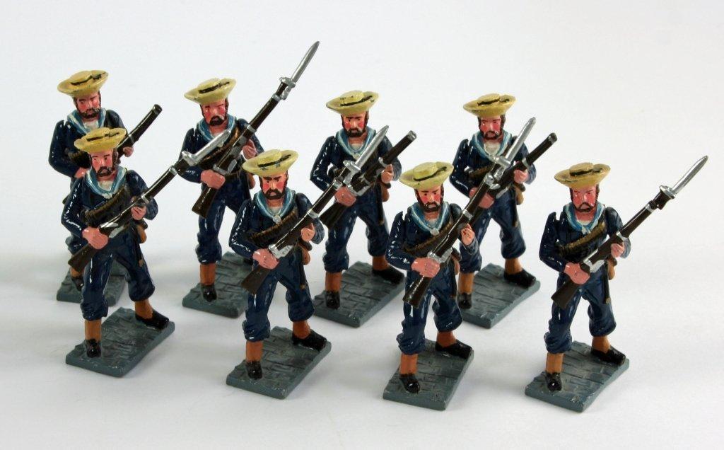 Vintage Sets, British Navy Metal Toy Soldiers