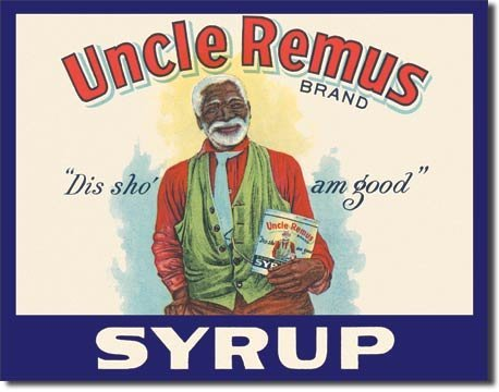 Uncle Remus Syrup Metal Advertising Sign