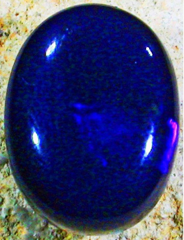 5.55ct Australian Lightning Ridge Black Opal