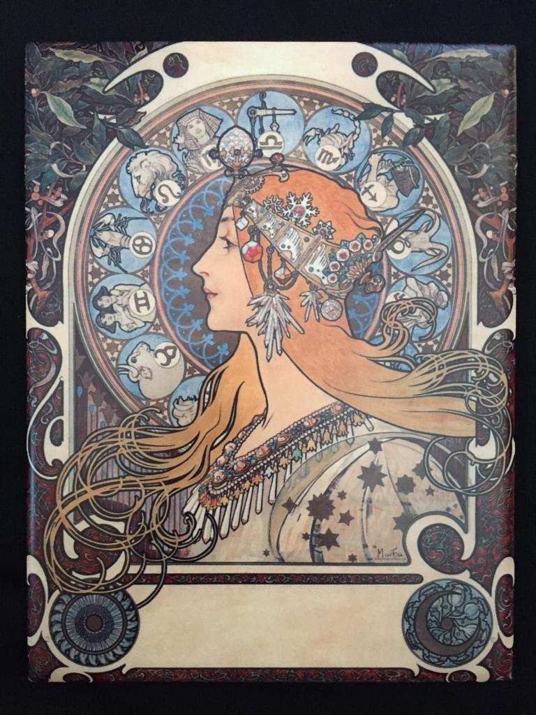 Alphonse Mucha Zodiac Ceramic Art Tile