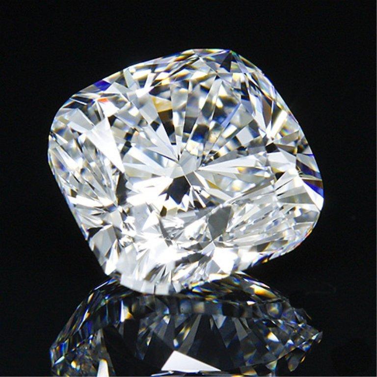 Magnificent 6.05ct Cushion Cut Diamond