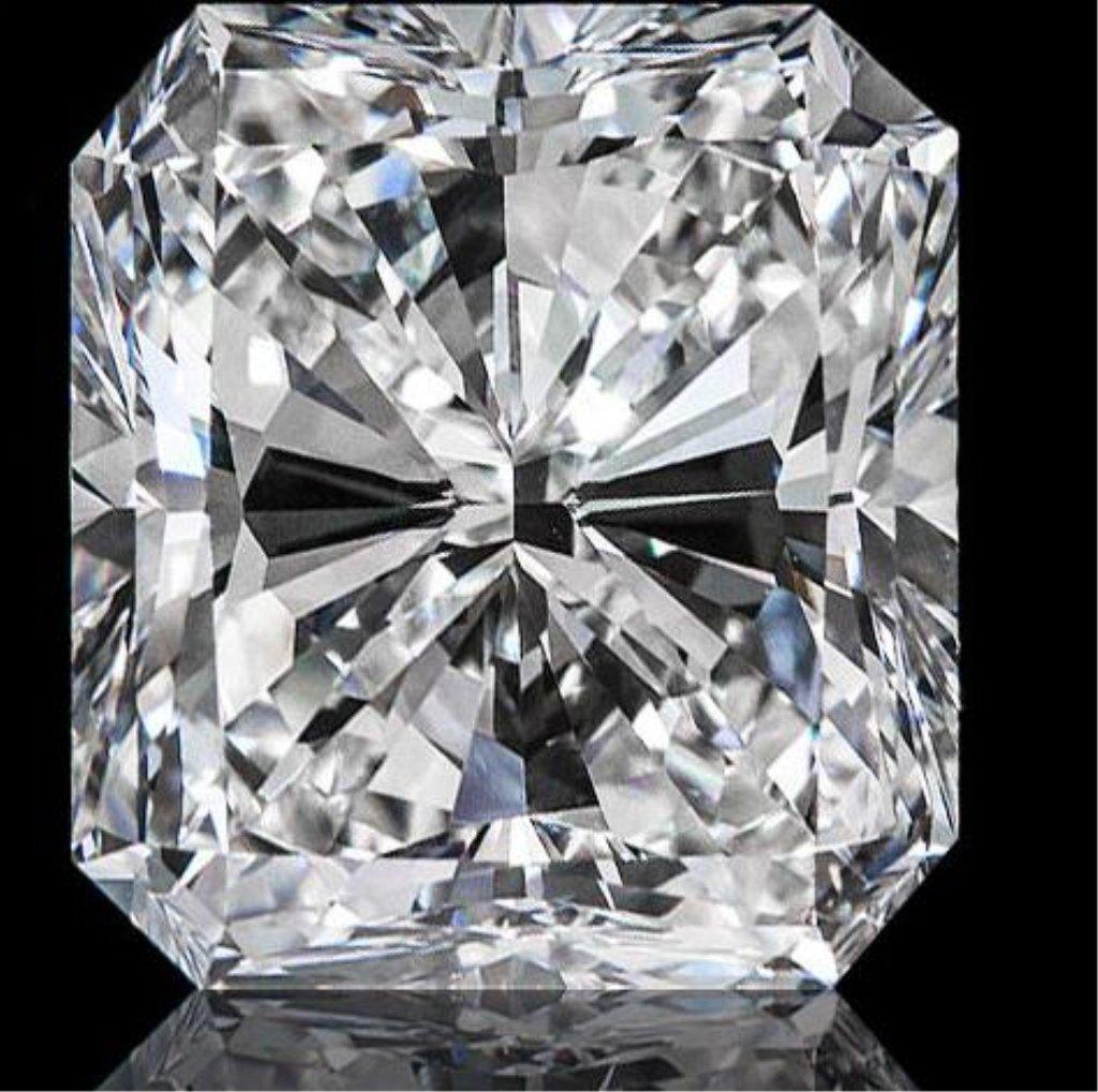 Magnificent 5.92ct Radiant Cut Diamond
