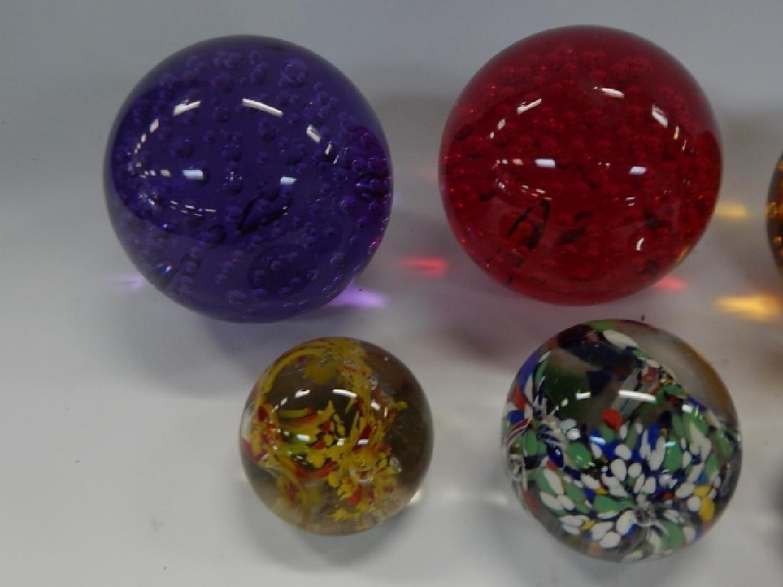 EIGHT PAPERWEIGHTS - 3