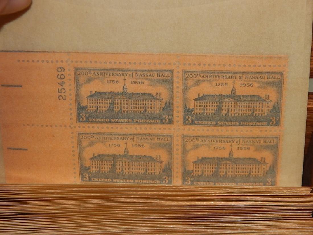COMMEMORATIVE U.S. POSTAGE STAMP PLATE BLOCKS - 6
