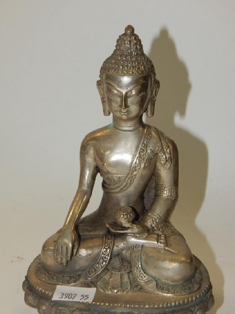 TIBETAN BUDDHISM SHAKYAMUNI BUDDHA STATUE - 2