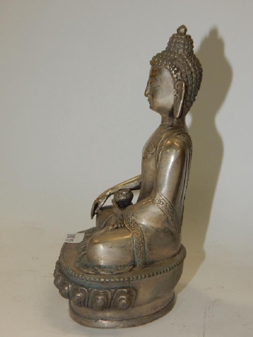 TIBETAN BUDDHISM SHAKYAMUNI BUDDHA STATUE - 3