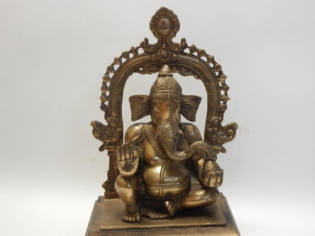"""GOD OF WEALTH"" BUDDHIST GANAPATI ELEPHANT - 3"