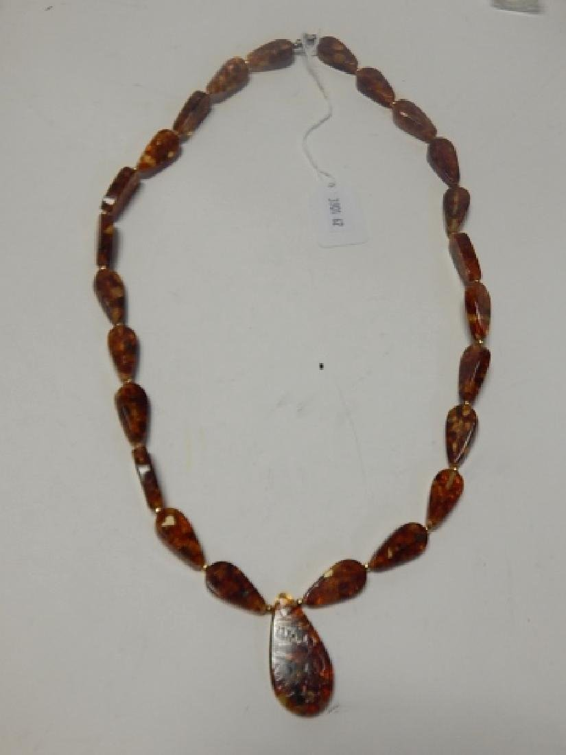 AMBER NECKLACE - 2
