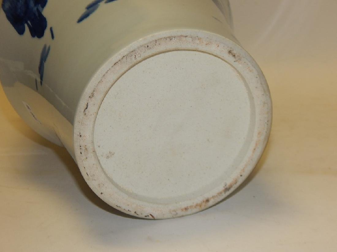 CHINESE BLUE AND WHITE VASE - 6