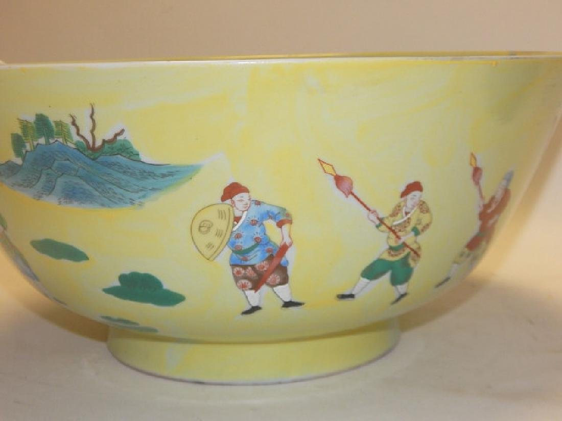 CHINESE DECORATED BOWL - 2