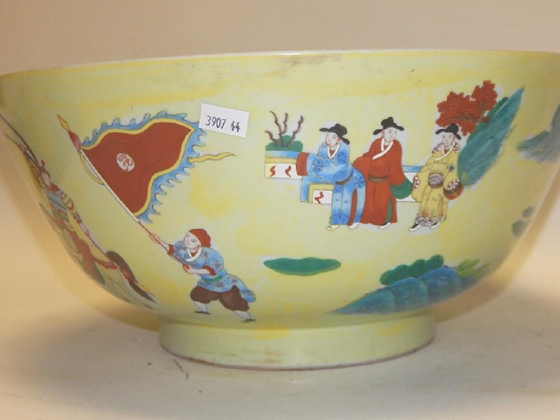 CHINESE DECORATED BOWL - 3