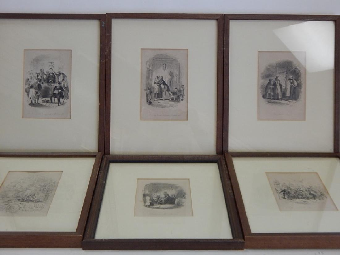 LOT OF SIX ETCHINGS