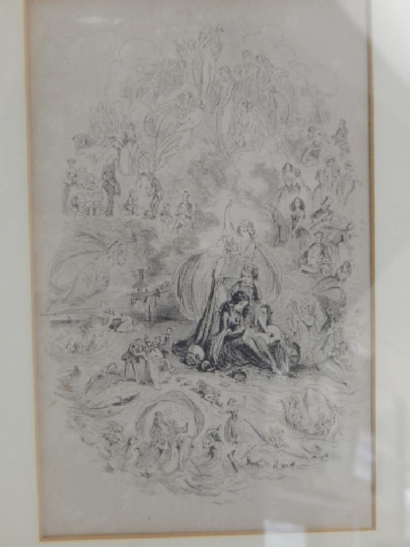 LOT OF SIX ETCHINGS - 4