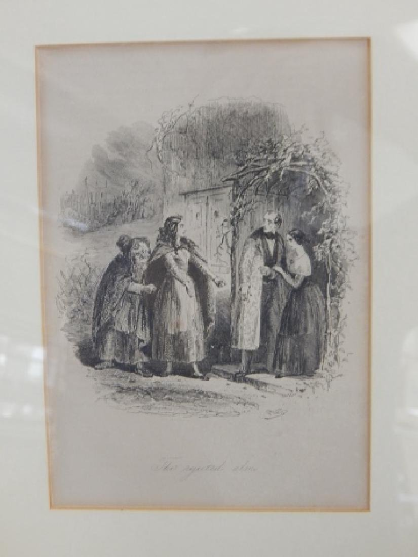 LOT OF SIX ETCHINGS - 7