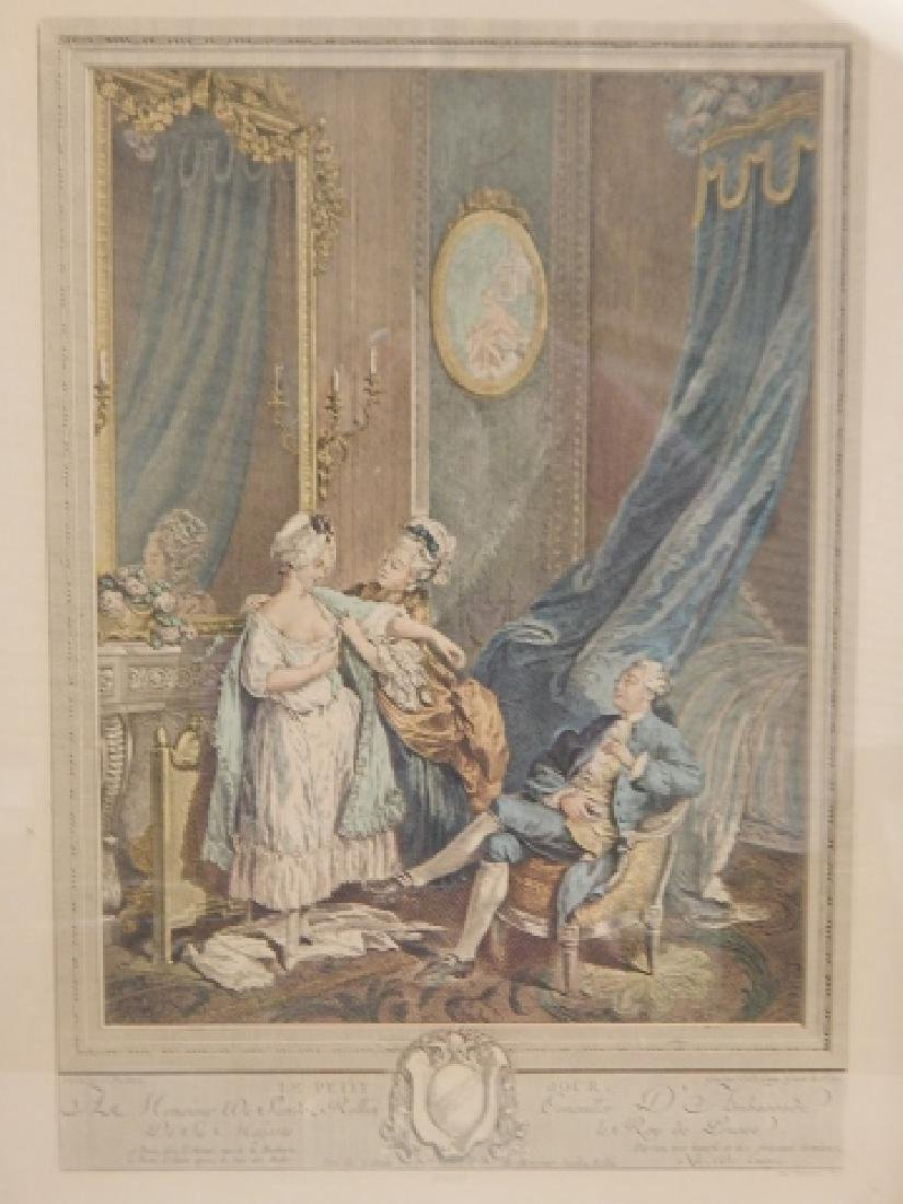 PAIR OF FRENCH PRINTS - 2