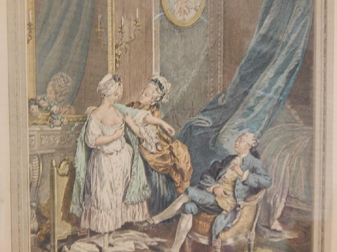 PAIR OF FRENCH PRINTS - 3