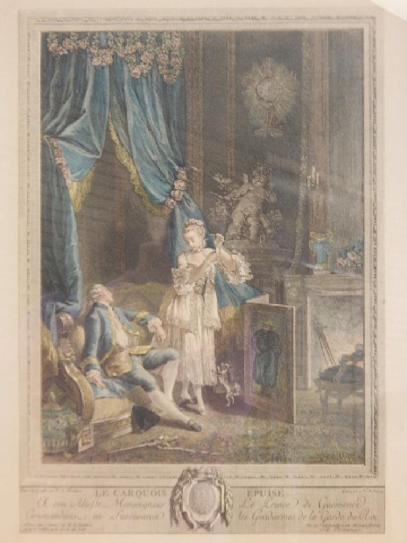 PAIR OF FRENCH PRINTS - 5