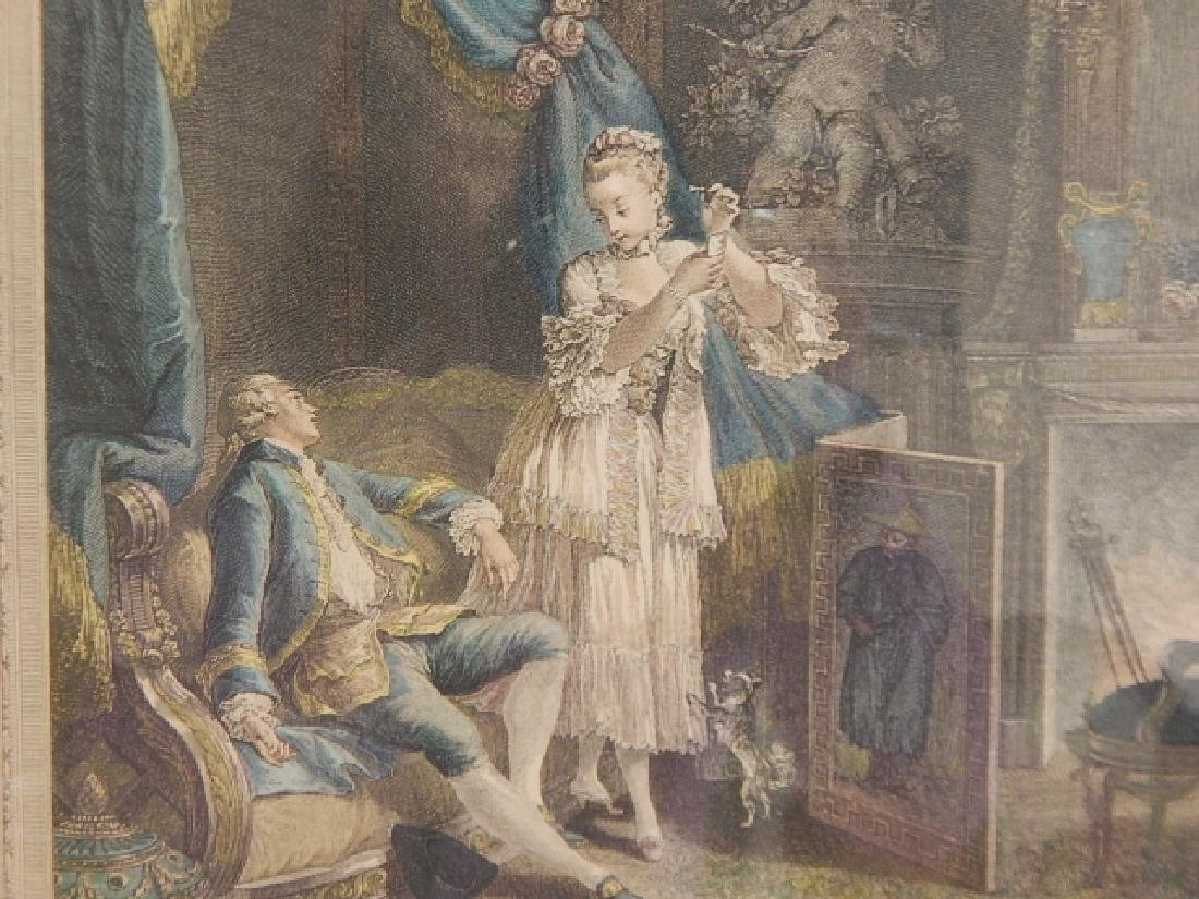 PAIR OF FRENCH PRINTS - 6