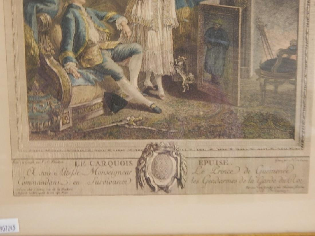 PAIR OF FRENCH PRINTS - 7