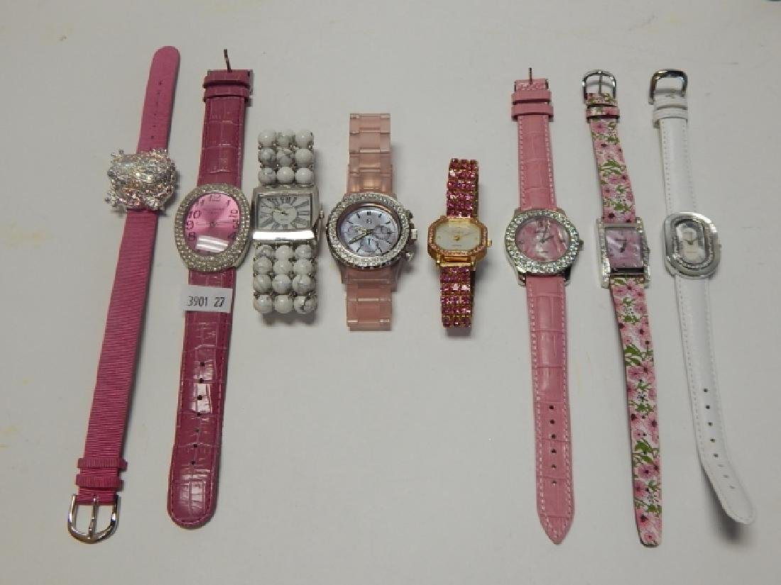 LOT OF EIGHT WATCHES