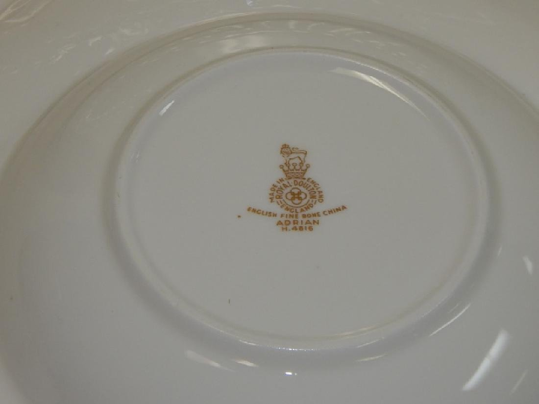 ADRIAN SET OF DISHES BY ROYAL DOULTON - 8