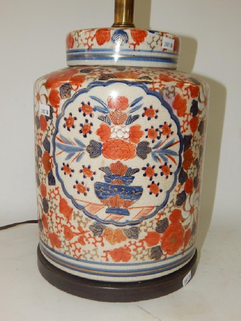 CHINESE PORCELAIN LAMP - 2
