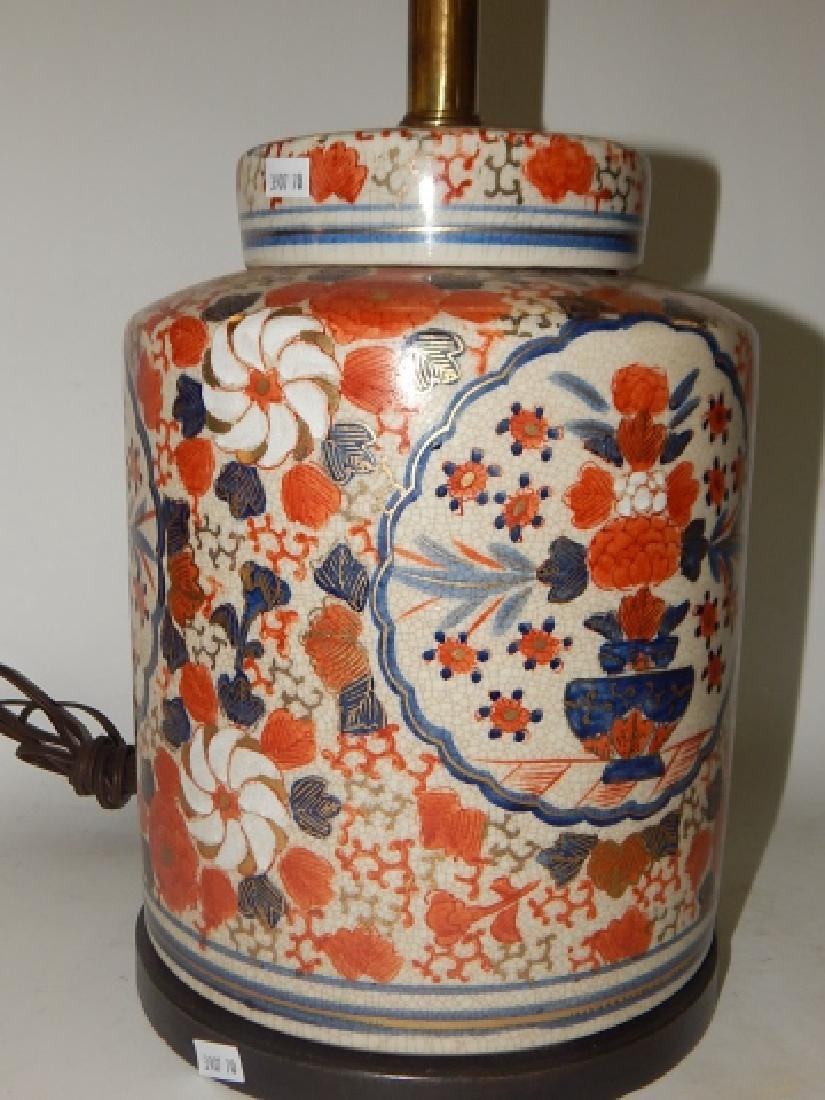 CHINESE PORCELAIN LAMP - 5