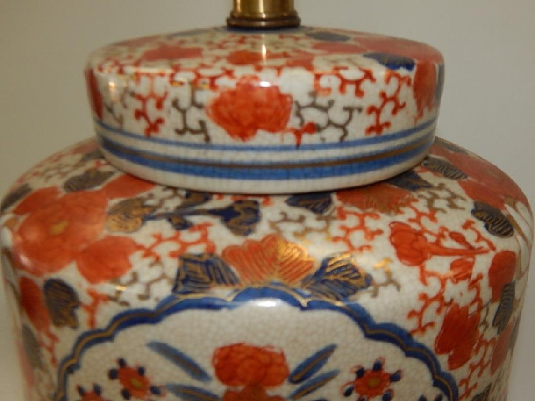 CHINESE PORCELAIN LAMP - 6