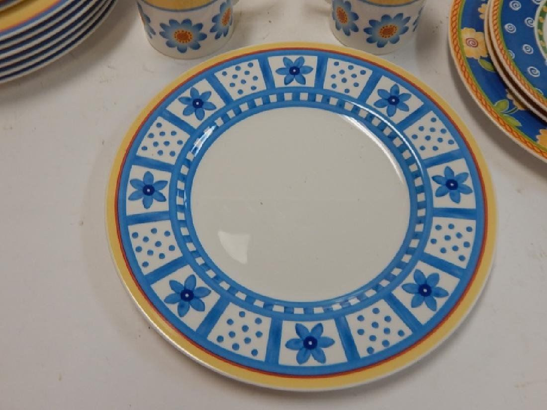 COLLECTION OF VILLEROY & BOCH DISHES - 6