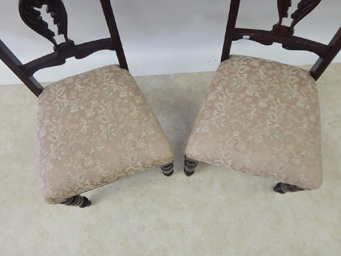 PAIR OF CHAIRS - 4