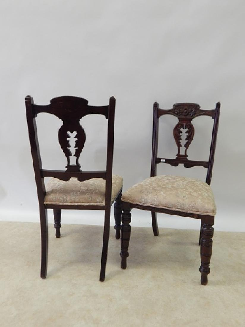 PAIR OF CHAIRS - 7