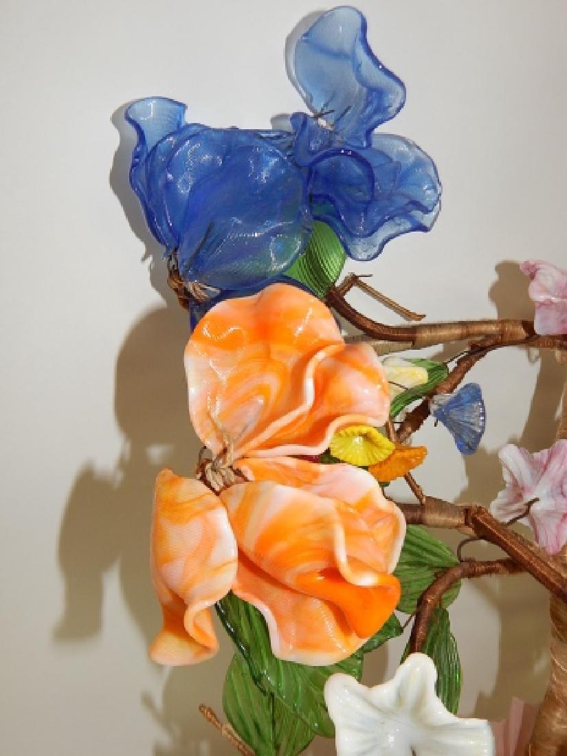 GLASS FLOWER DISPLAY - 4