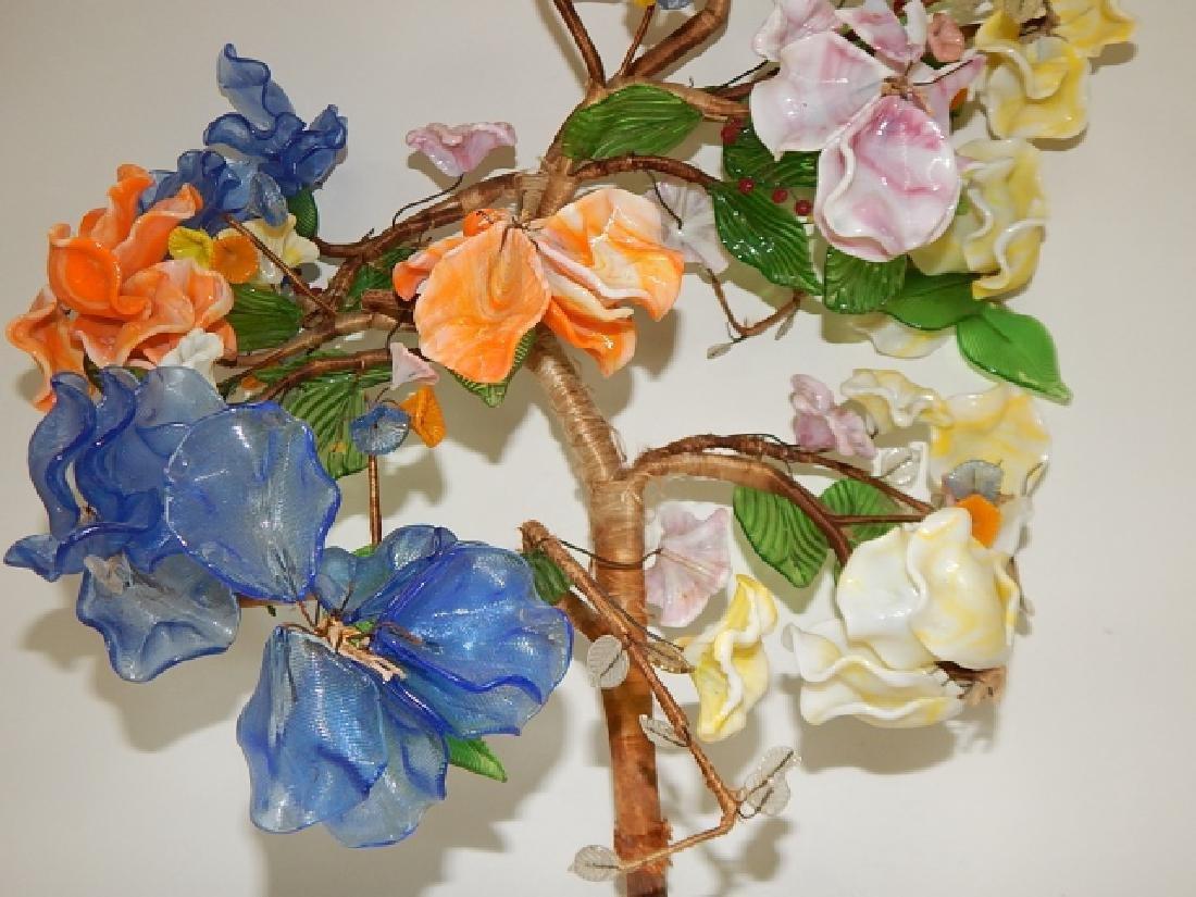 GLASS FLOWER DISPLAY - 5