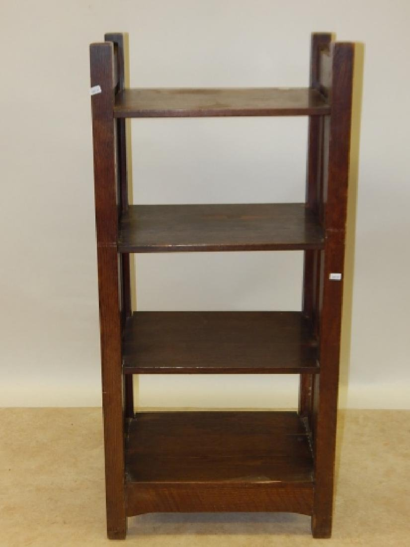 MISSION OAK BOOK STAND