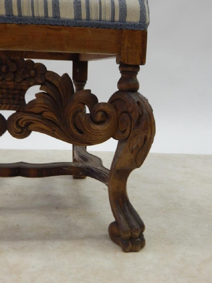 CARVED HIGH BACK SIDE CHAIR - 4