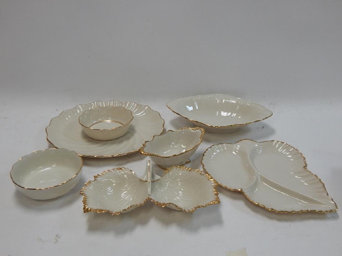 6 PIECE LENOX SERVING DISHES