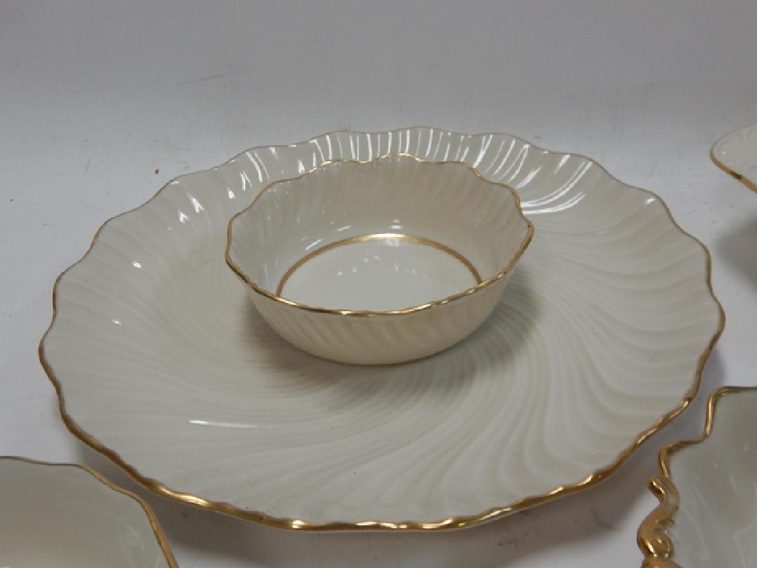 6 PIECE LENOX SERVING DISHES - 3