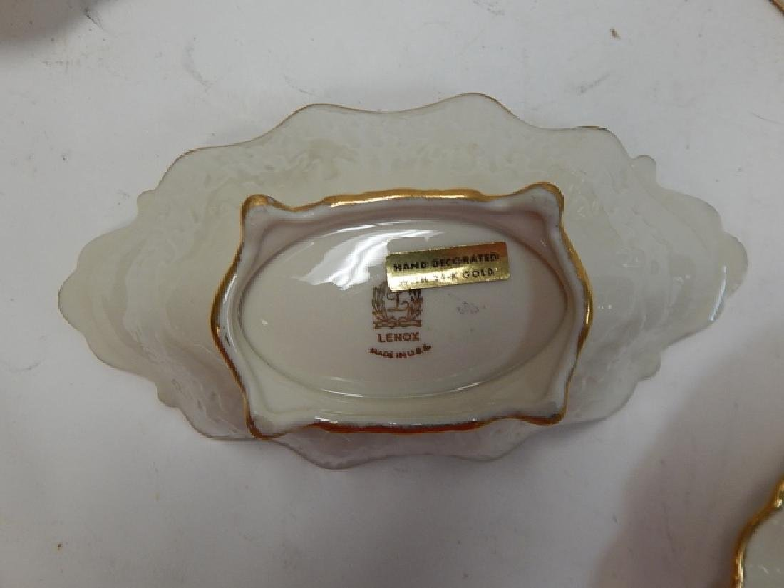 6 PIECE LENOX SERVING DISHES - 6