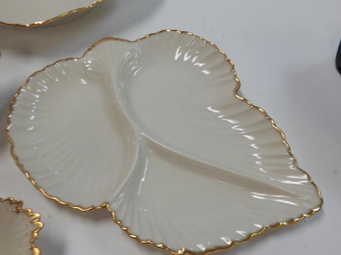 6 PIECE LENOX SERVING DISHES - 7