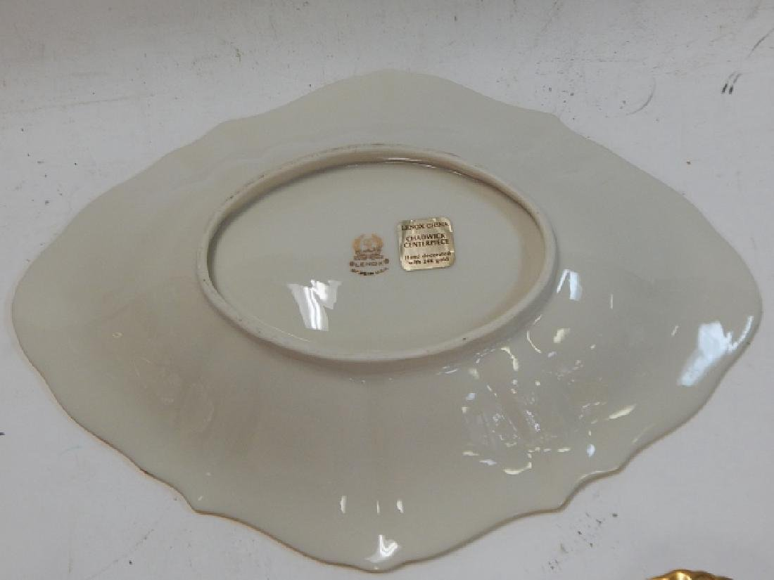 6 PIECE LENOX SERVING DISHES - 9