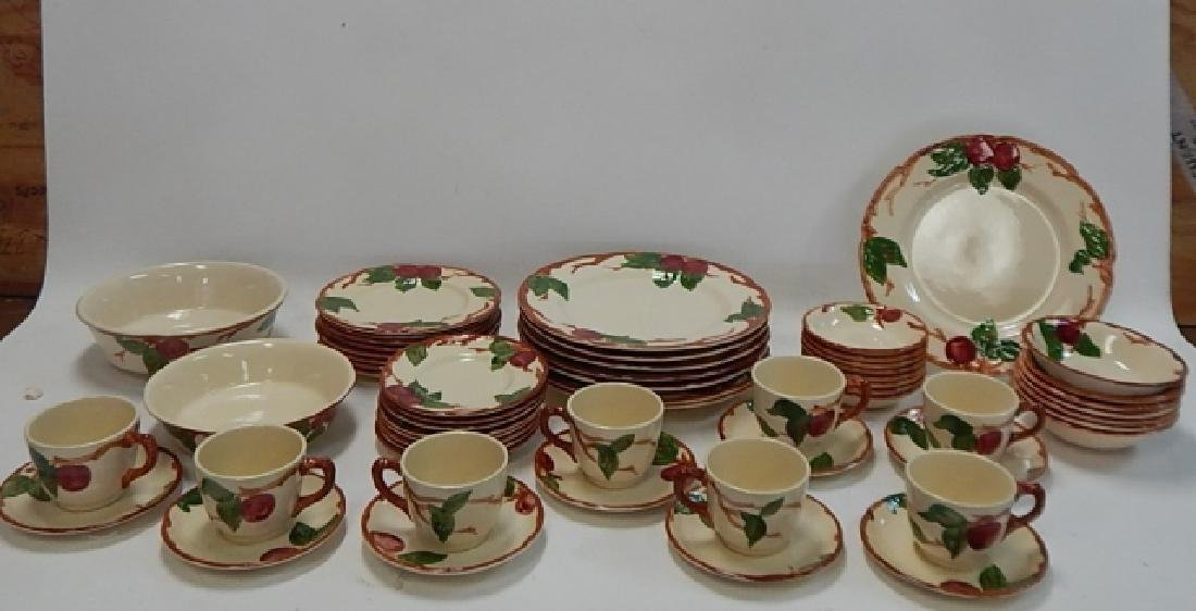 SET OF APPLE DISHES BY FRANCISCAN