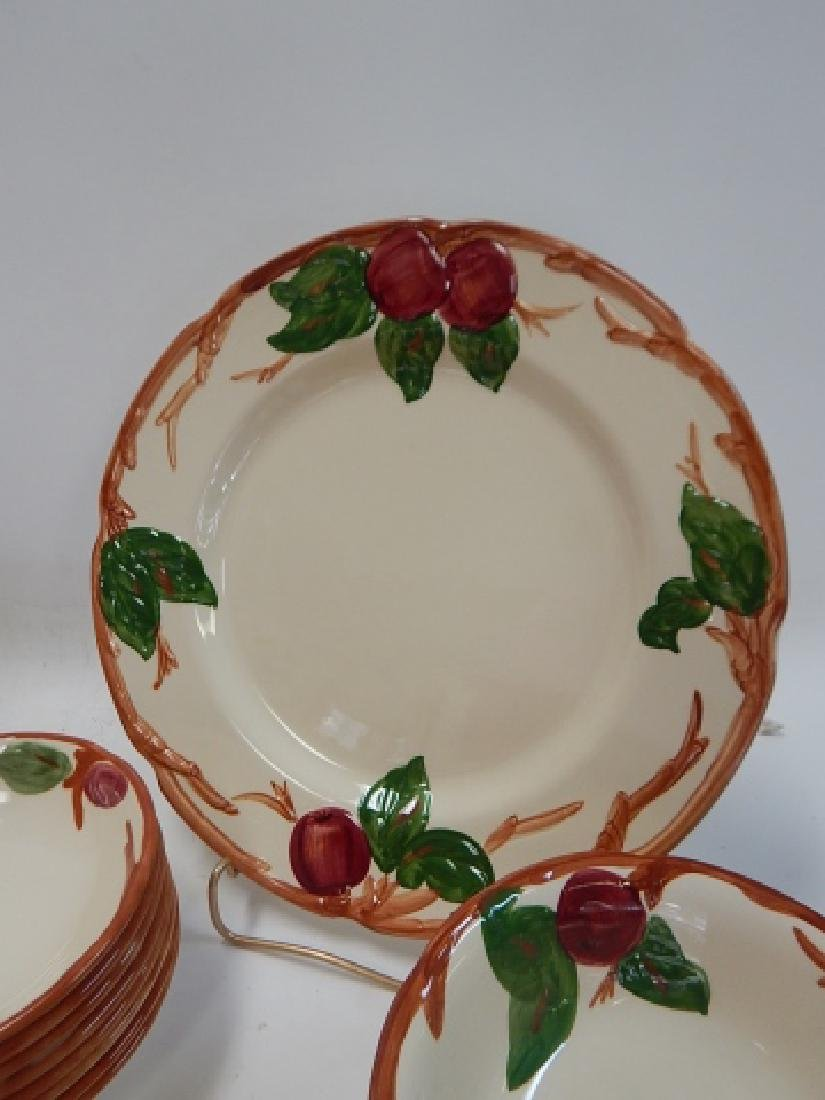 SET OF APPLE DISHES BY FRANCISCAN - 2