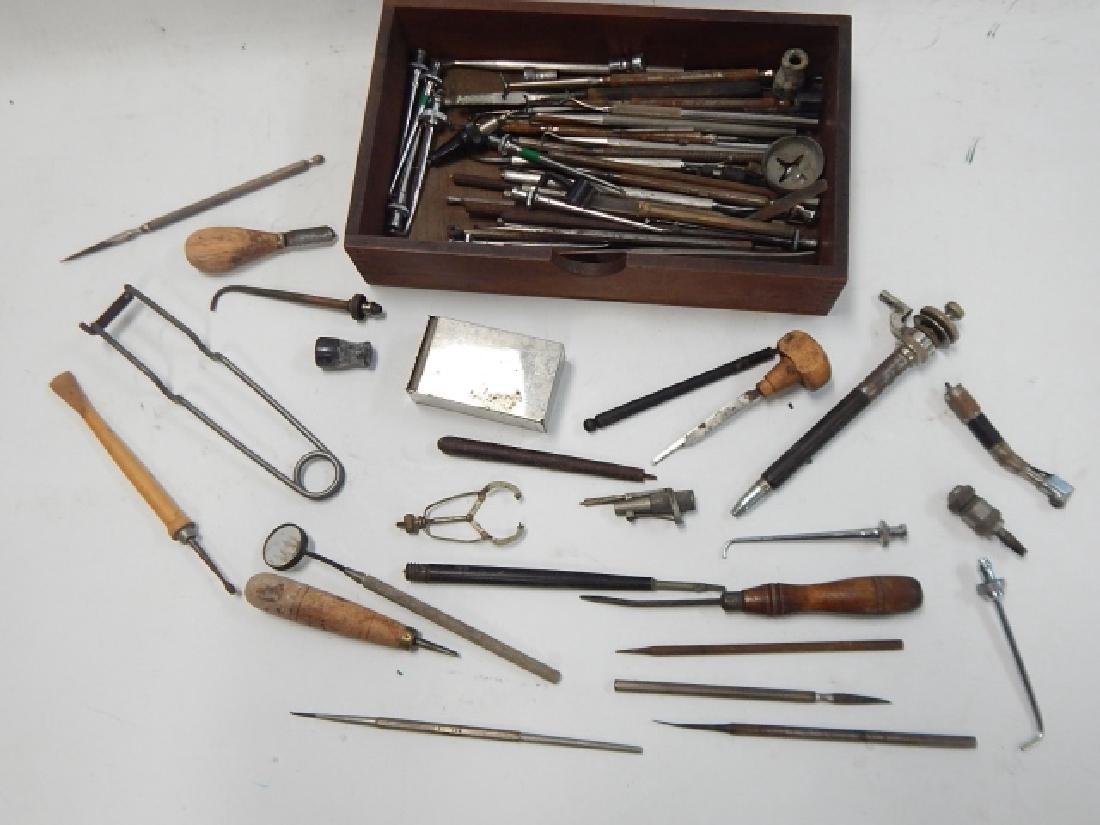 COLLECTION OF DENTAL INSTRUMENTS - 2