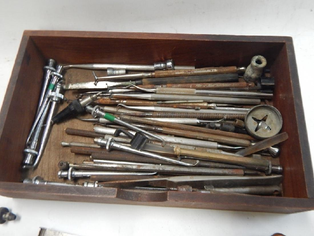 COLLECTION OF DENTAL INSTRUMENTS - 3
