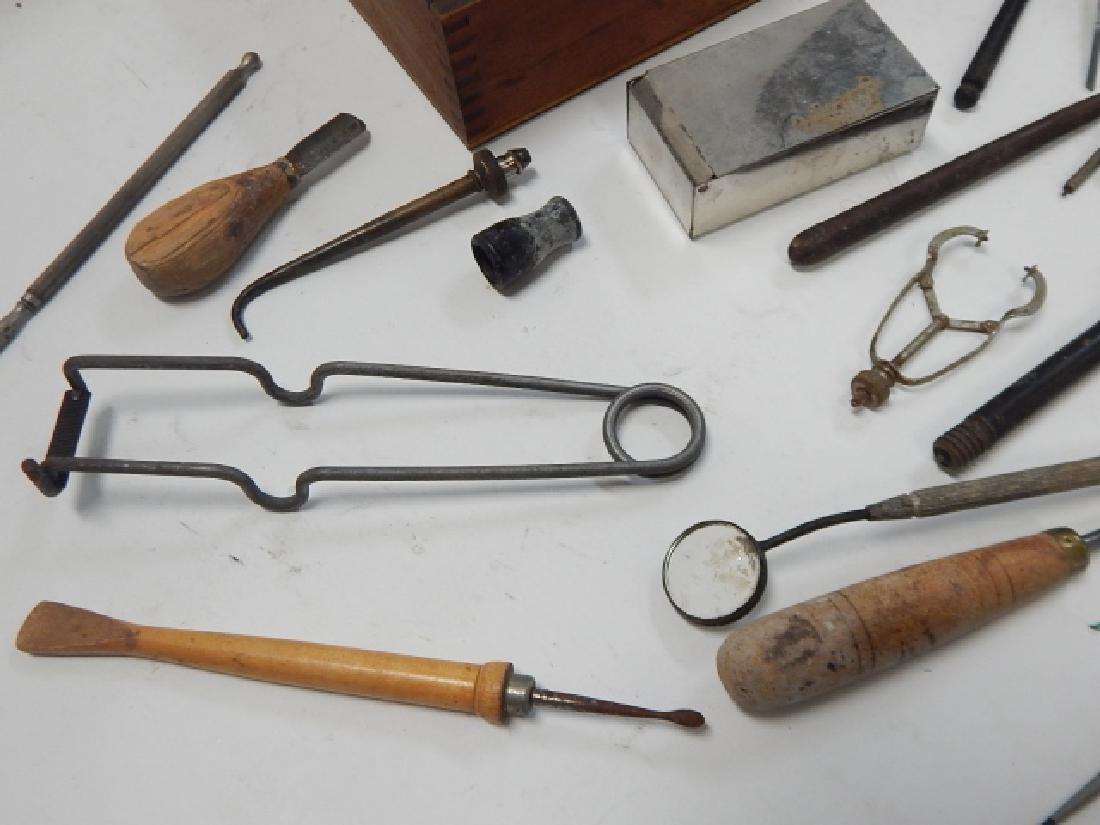 COLLECTION OF DENTAL INSTRUMENTS - 4