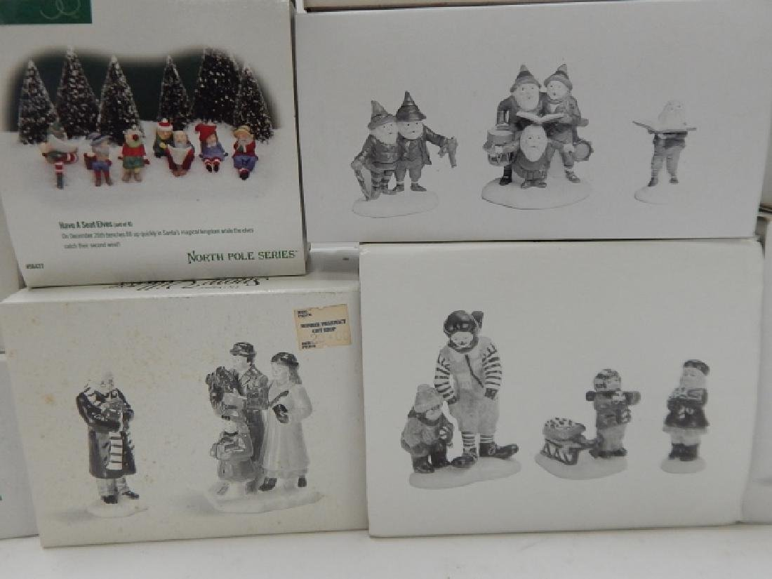 12 PC ACCESSORIES FOR DEPARTMENT 56  VILLAGE - 4